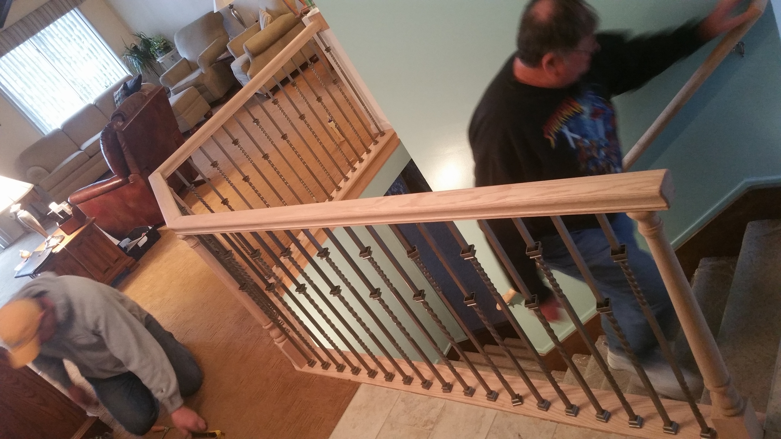 Re-frame + Balusters